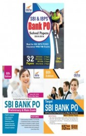 Crack SBI Bank PO for Prelim & Main Exam (Guide + Solved + 20 Practice Sets) 4th Edition