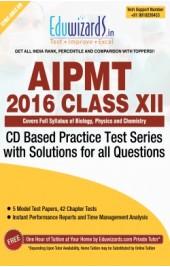 Eduwizards AIPMT 2016 Class XII - CD