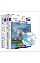 Smart Series Class 4 - Combo Pack (IMO / NSO / IEO / NCO) CD English