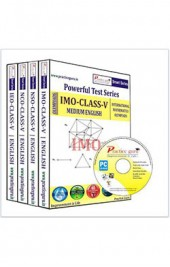 Smart Series Class 5 - Combo Pack (IMO / NSO / IEO / NCO) CD English