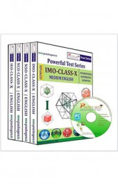 Smart Series Class 10 - Combo Pack (IMO / NSO / IEO / NCO) CD English
