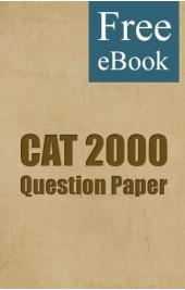 CAT 2000 Question Paper free eBook