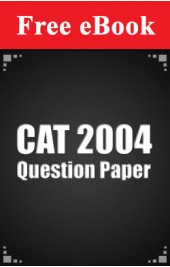 CAT 2004 Question Paper free eBook