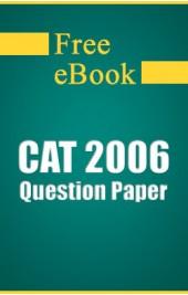 CAT 2006 Question Paper free eBook