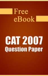 CAT 2007 Question Paper free eBook