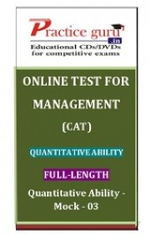 Quantitative Ability - Mock - 03