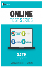 GATE (CS) 5 Full Tests By TestBook - Online Test