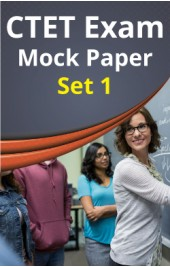 CTET Exam Paper-I Mock-Test Set-1
