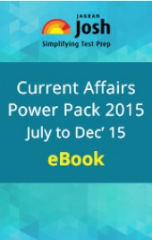 Current Affairs (July-Dec 2015) Power Pack eBook