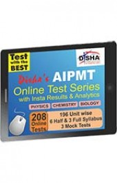 Disha's AIPMT 2015 Online Test Series - Physics, Chemistry & Biology with Insta Results and Analytics