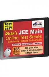 Disha's JEE Main 2015 Online Test Series - Physics, Chemistry & Mathematics with Insta Results and Analytics