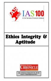Ethics Integrity And Aptitude (Part-1) For IAS Mains English