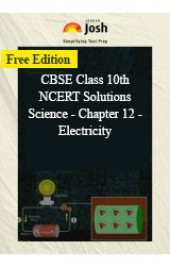 CBSE Class 10th NCERT Solutions Science - Chapter 12 - Electricity