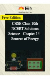 CBSE Class 10th NCERT Solutions Science - Chapter 14 - Sources of Energy