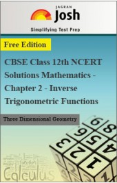 CBSE Class 12th NCERT Solutions Mathematics - Chapter 2 - Inverse Trigonometric Functions