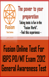 IBPS PO/MT Exam 2012 General Awareness Test