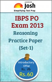 IBPS PO Exam 2013 Reasoning Practice Paper - Set 1