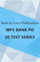 IBPS Bank PO 20 Test Series eBook