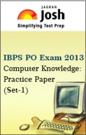 IBPS PO Exam 2013:Computer Knowledge:Practice Paper(Set-1)