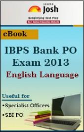 IBPS Bank PO Exam 2013: English Language