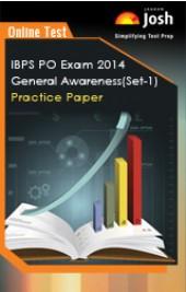IBPS PO Exam 2014: General Awareness: Practice Paper (Set-1) - Online Test