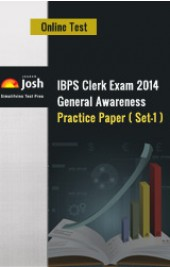 IBPS Clerk Exam 2014: General Awareness: Practice Paper (Set-1) - Online Test
