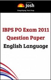 IBPS PO Exam 2011 Question Paper English language - Online Test
