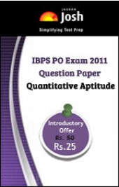 IBPS PO Exam 2011 Question Paper Quantitative Aptitude - Online Test