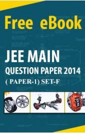 JEE Main Question Paper 2014 (paper-1 Set-F)