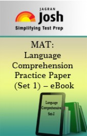 MAT: Language Comprehension Practice Paper (Set 1) – eBook