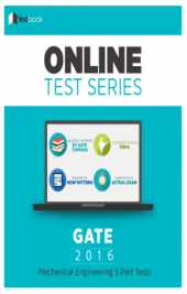 GATE (ME) 5 Part Tests By TestBook - Online Test