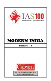 Modern India Booklet 1 For IAS Mains English