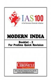 Modern India Booklet 2 For IAS Mains English