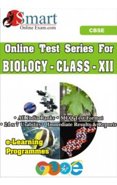 Smart Online Exam CBSE Biology Class Xii English - Online Test