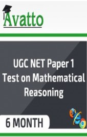 UGC NET Paper1 Test on Mathematical Reasoning 6 by Avatto