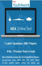 NDA Best Online Practice Tests Prep (Duration - 3 Months)