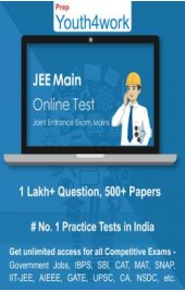 JEE Main Best Online Practice Tests Prep (Duration - 1 Month)
