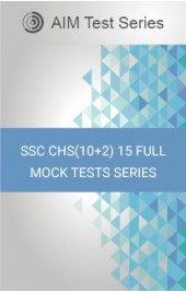SSC CHS(10+2) 15 Full Mock Tests Series