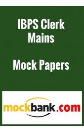 IBPS Clerk Mains 2015 Mock Test Series - Series of 5 by Mockbank in English