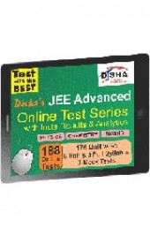 Disha's JEE Advanced 2015 Online Test Series - Physics, Chemistry & Mathematics with Insta Results and Analytics