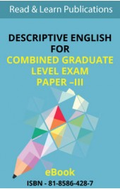 Descriptive English For Combined Graduate Level Prel. Exam Paper - III