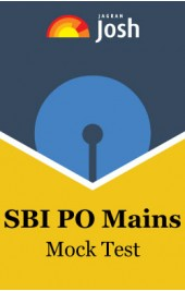 SBI PO Mains Mock Test
