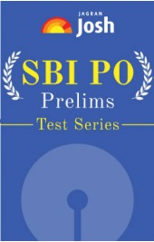 SBI PO Prelims Mock Test Series