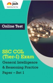 SSC CGL (Tier-I) Exam: Reasoning: Practice Paper (Set-1) Online Test