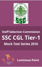 SSC CGL Tier-I Mock Test Series 2016 eBook