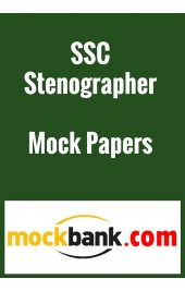 SSC Stenographer - Series of 2 By Mockbank in English