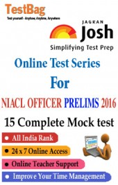 NIACL Administrative Officer Prelims Mock Test