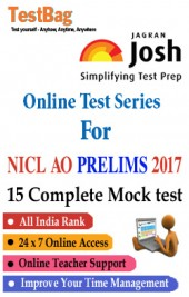 NICL AO (National Insurance Company Ltd (Administrative Officer)) Prelims Mock Test