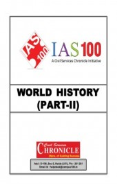 World History (Part-II) For IAS Mains English