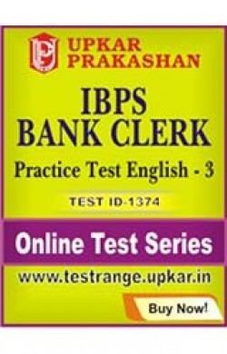 IBPS Bank Clerk Practice Test English - 3